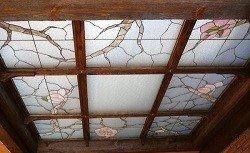 Характеристики витражных потолков