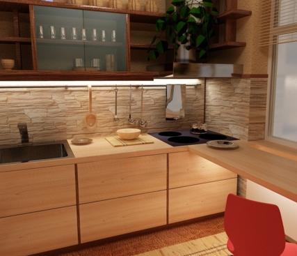 Маленькая кухня: несколько рекомендаций по обустройству