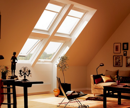 Мансардные окна: основные разновидности