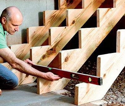 Маршевые деревянные лестницы и их отличительные особенности