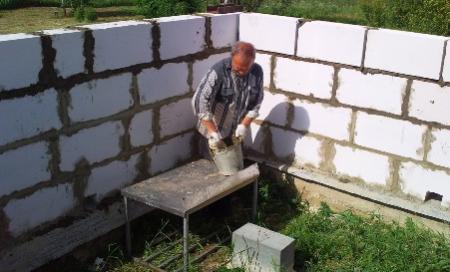 Наиболее распространенные строительные материалы для сооружения стен