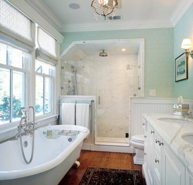Обустройство потолка в ванной: наиболее подходящее решение