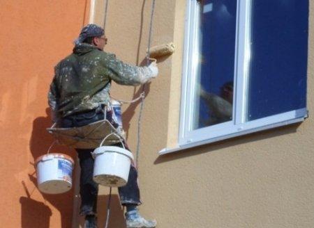 Особенности ремонта фасадов домов