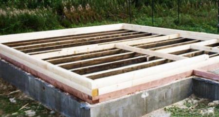 Особенности строительства бани из шпал