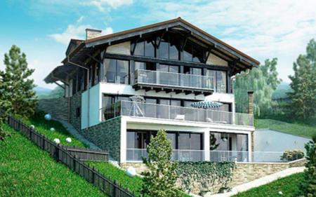 Особенности возведения домов с цокольным этажом