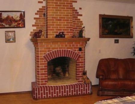Отделка печей и каминов в частном доме своими руками