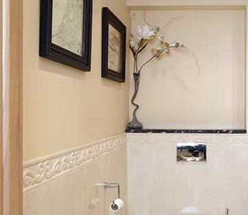Отделка ванной комнаты декоративной штукатуркой