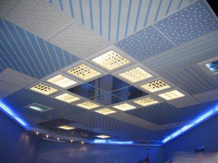 Подвесные потолки из минераловолокна