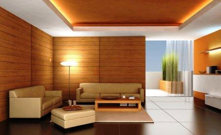 Приемы оформления гостиных без телевизора и/или камина