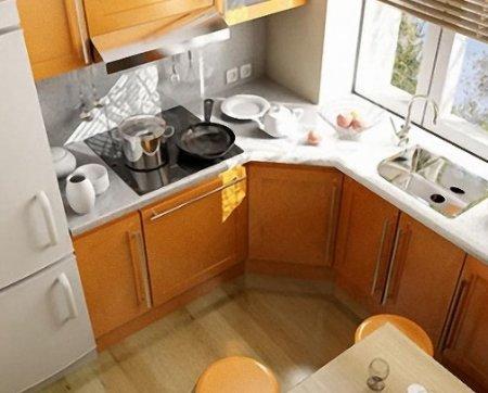 Ремонт в кухне - хрущевке: 10 маленьких хитростей