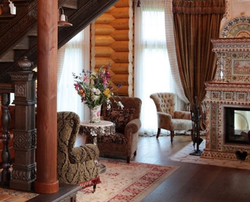 Русский стиль в современном дизайне интерьера