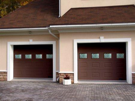 Секционные гаражные ворота и их выбор