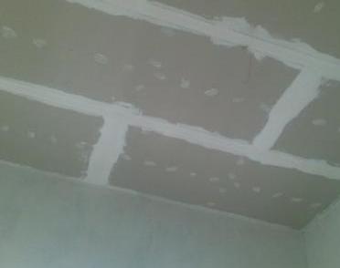 Сокрытие потолочных швов
