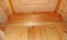 Советы по замене дверного порога