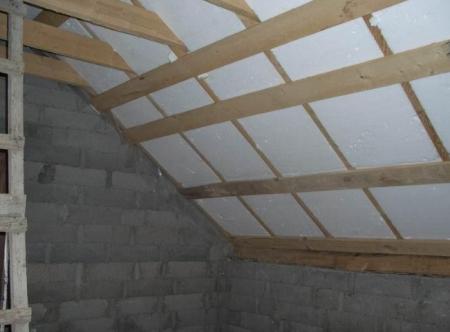 Способы утепление крыши бани самостоятельно