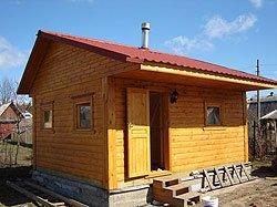 Сравниваем дома из оцилиндрованного бревна и бруса