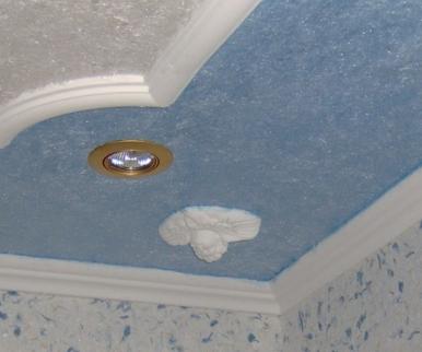 Стеклохолст для потолка: технология монтажа