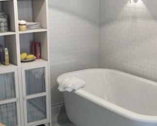 Удобная небольшая ванная комната