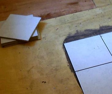 Укладка кафельной плитки на бетонное основание