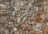 Декор стен камнем