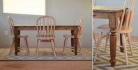 Кухонный-стол-своими-руками-идеи-дизайна-мореное-дерево