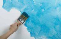 Как грамотно покрасить стену