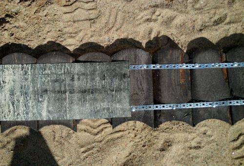 Прибиваем к внутренней стороне,  гидроизоляционный материал (фото)