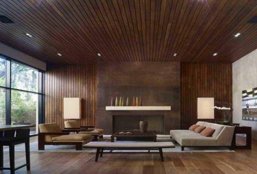 Положительные качества отделки стен из древесины