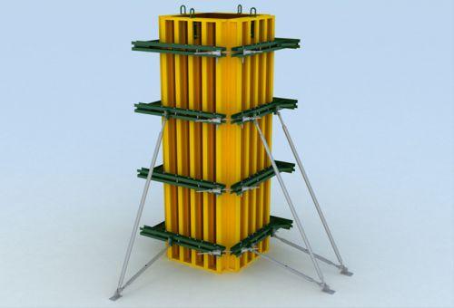 Преимущества использования опалубки для колонн