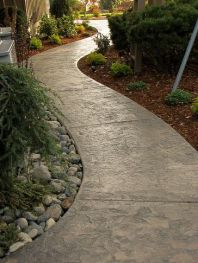 Садовые дорожки, бетонные дорожки, своими руками