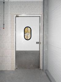 Технологические и холодильные двери под монорельс