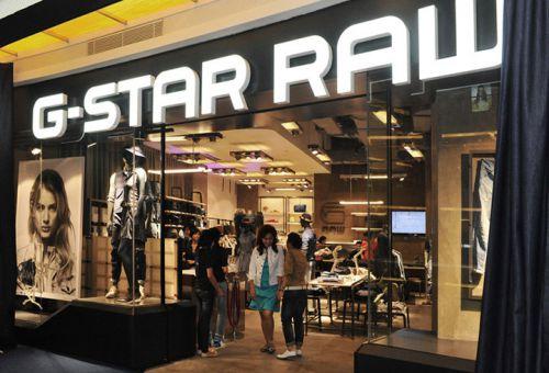 Интерьер магазина G-star в отеле Pacific Place, Джакарт, Индия