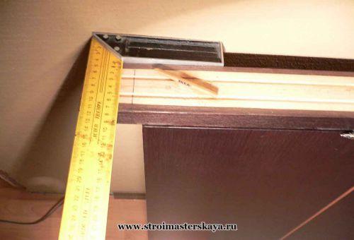 обрезаем стойку коробки (фото)
