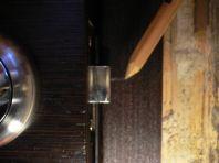 Разметка защелки (фото)