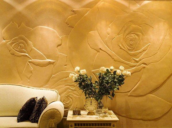 Декоративная штукатурка стен дизайн