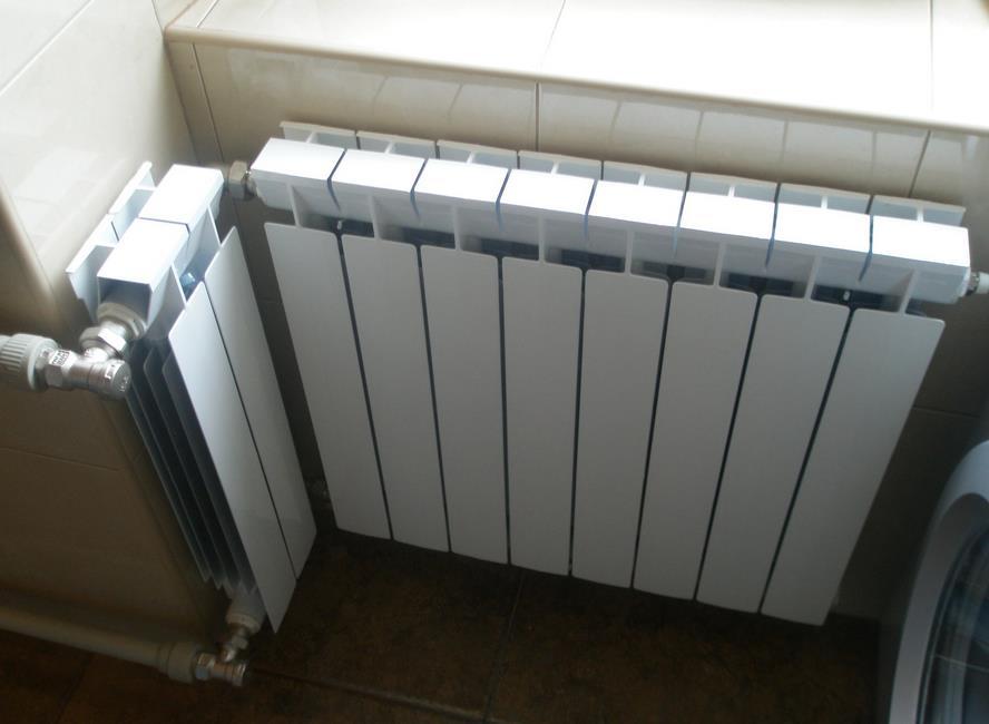 Устанавливаем алюминиевый радиатор своими силами