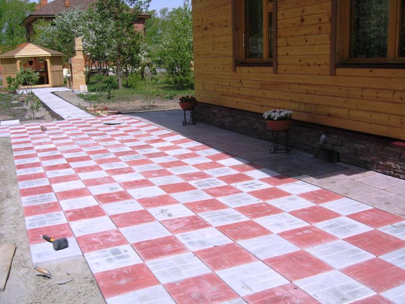 Достоинства тротуарной плитки