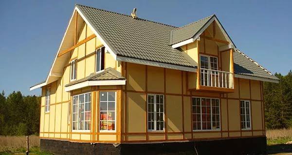 Преимущество каркасных домов