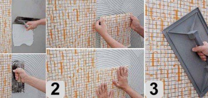 Укладка мозаичной плитки в ванной своими руками 14