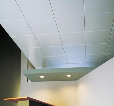 Потолочная плитка — легко и просто!