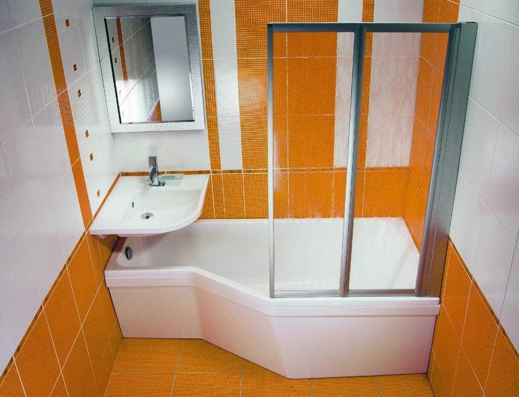 Ванная комната дизайн 160 190