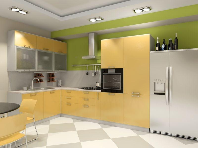 Преимущества пластиковых кухонных фасадов
