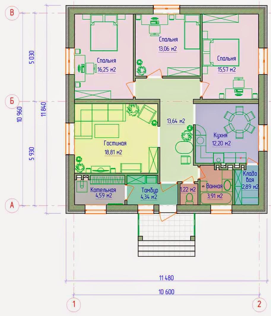 Составление архитектурного проекта