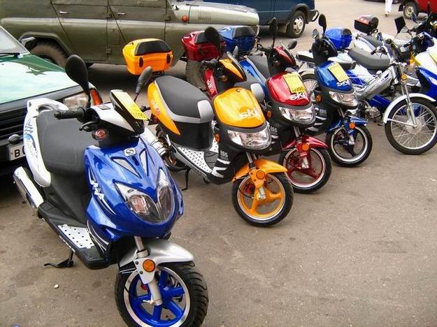 Покупка скутера. Как правильно выбрать скутер?
