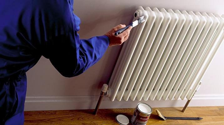 Как надежно покрасить радиатор отопления?