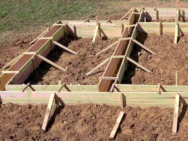 Как правильно залить фундамент дома