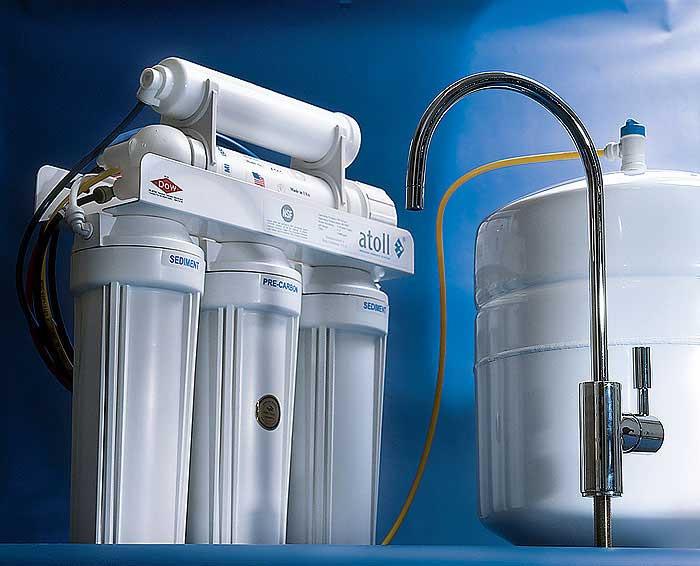 На каком этапе строительства лучше заказывать фильтры для воды