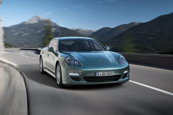 Спорткар Porsche Panamera, дизельная версия