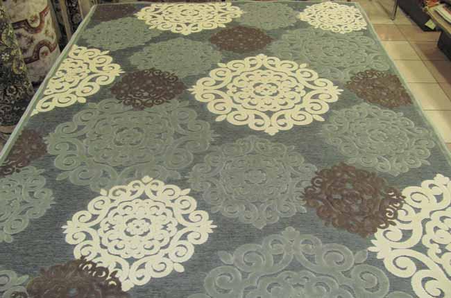 Основные принципы подбора ковров из вискозы
