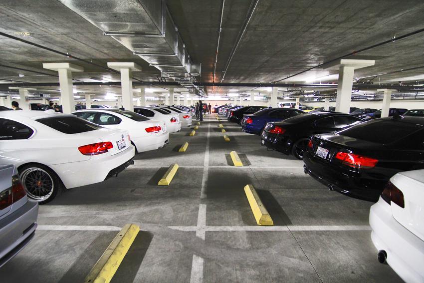 Обустройство современной парковки